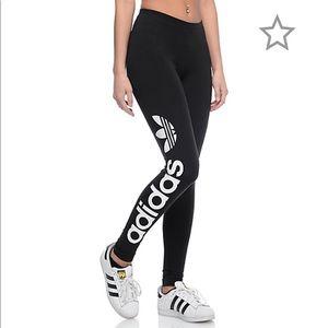 SALE - Adidas Linear Logo Black Leggings